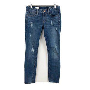 Gap 1969 Always Skinny Jeans Distressed Stretch 27